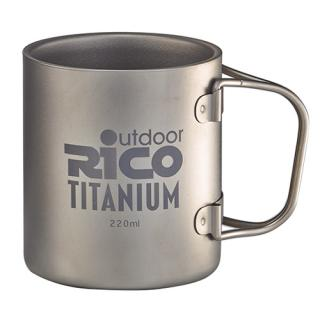 Taza doble Titanium 220Ml de la pared